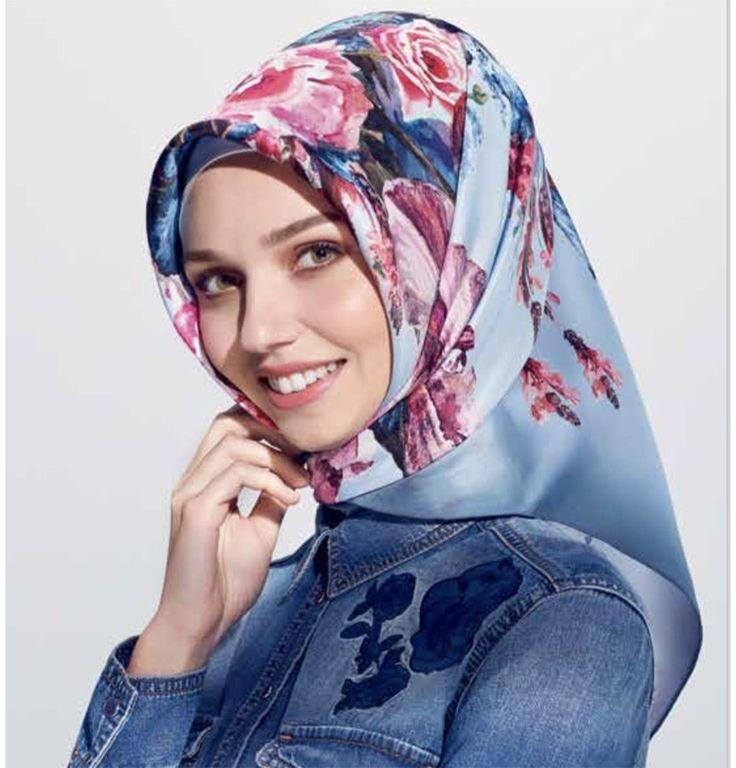 Armine Silk Hijab Spring 2017 #7652