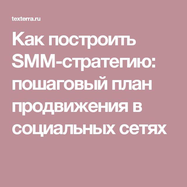Как построить SMM-стратегию: пошаговый план продвижения в социальных сетях