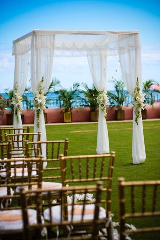 Valanced ceremony chuppah Wedding aisle flower décor, wedding ceremony flowers, pew flowers, wedding flowers, add pic source on comment and we will update it. www.myfloweraffair.com can create this beautiful wedding flower look.