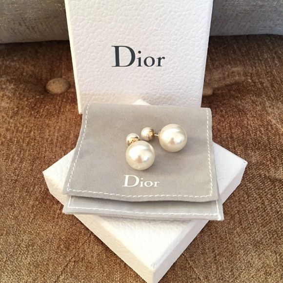 BNIB!! Authentic Christian Dior Tribal earrings Brand new with box authentic Christian Dior Mise en Dior tribal earrings. Come with box and pouch Dior Jewelry Earrings