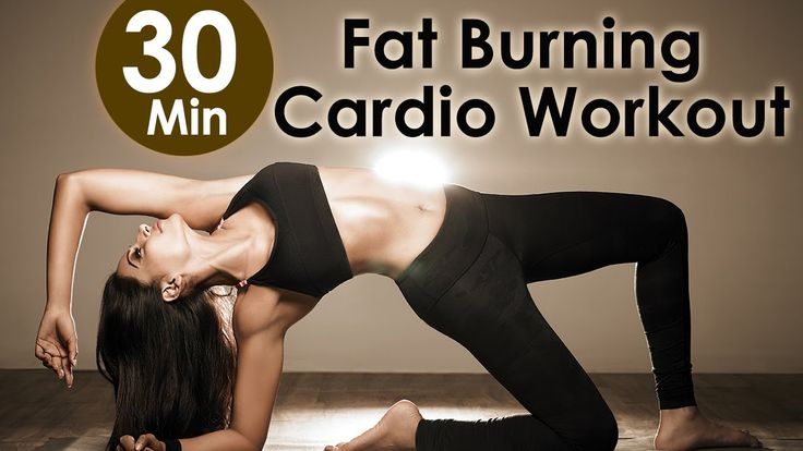 30 Min Fat Burning Cardio Workout - Bipasha Basu Unleash 'Full Routine' ... the vid is a lil weird but its a good, even cardio thats not too hard