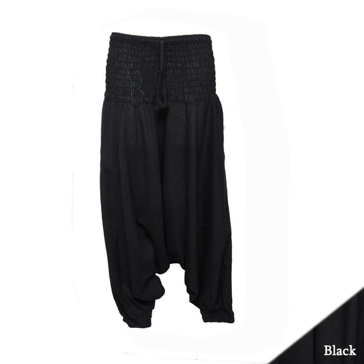 http://www.hippyboho.co.uk/1-cotton-harem-plain-pant/
