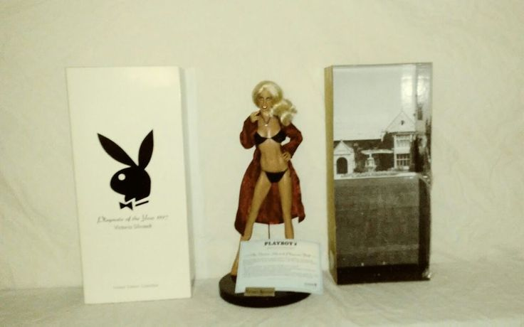 Victoria Silvstedt Playboy Playmate 1997 Limited Edition Doll with Display Box