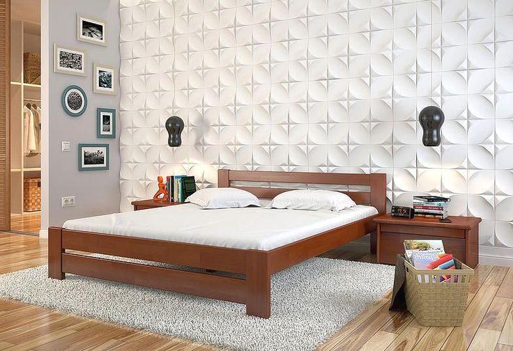 Кровать Симфония (бук или сосна) Arbor Drev