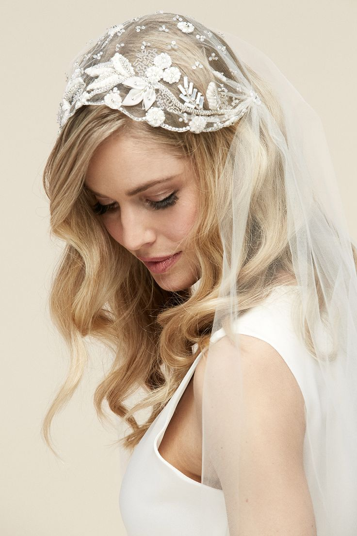 Wedding hair accessories christchurch - Asia Veil Bridal Veil Veil Cap Veil Embroidered By Untamedpetals