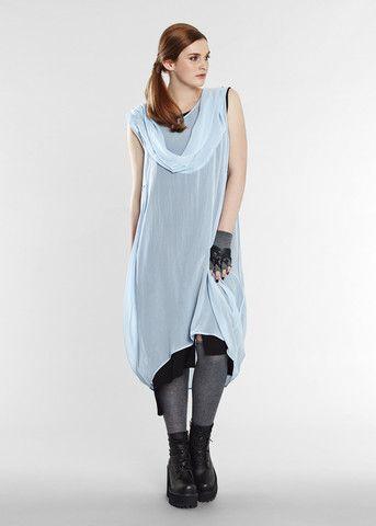 Winter Angel Dress - Blue Ice - Euphoria Design