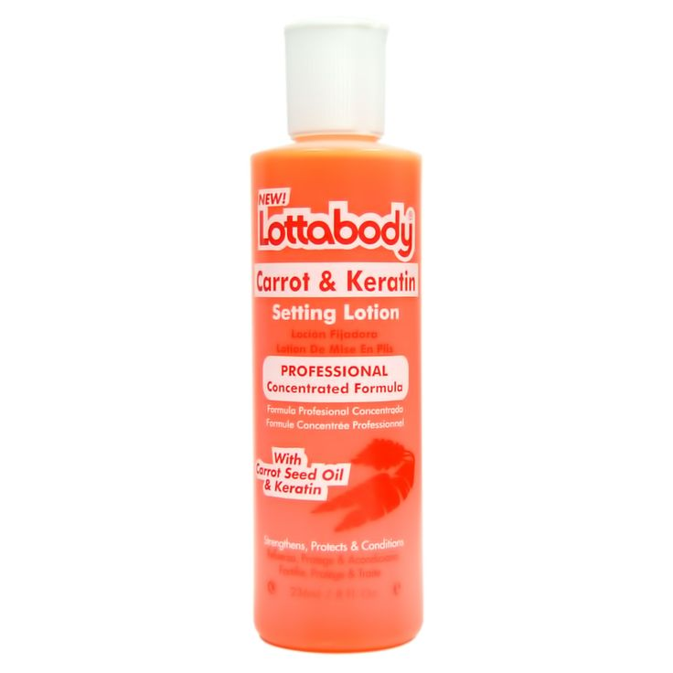 Lotta Body Carrot & Keratin Setting Lotion Concentrated Formula 8oz