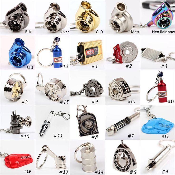 Details about Car Parts Key Chain Turbo Turbine Nos