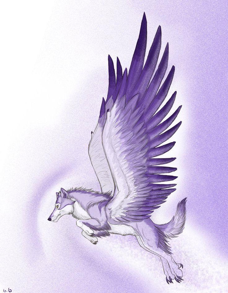 dark-winged-wolf