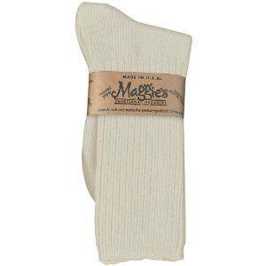 Maggie's Organics Crew Socks, Natural (Pack of 3) Maggie's Organics. $20.55