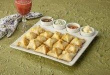 Trouxinha de Peru e Cream Cheese