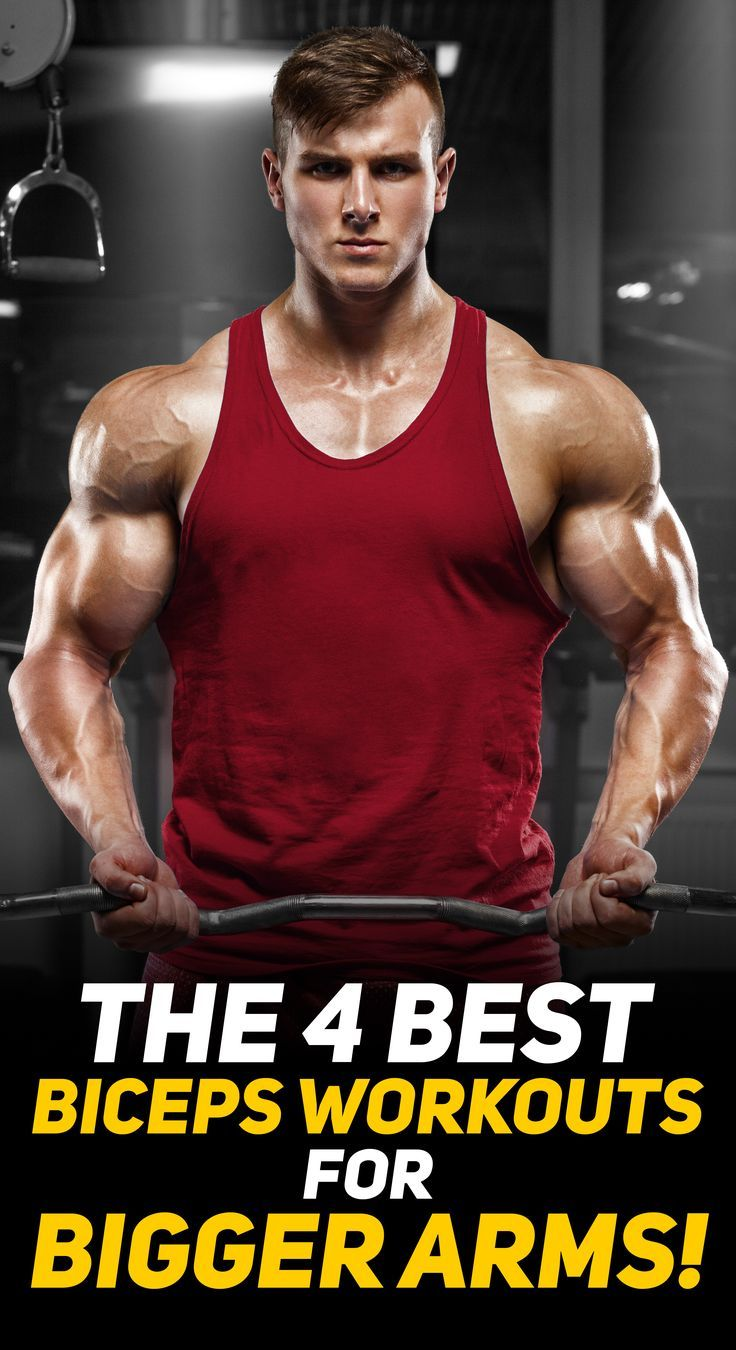 4 Biceps Workouts For Bigger Arms 4