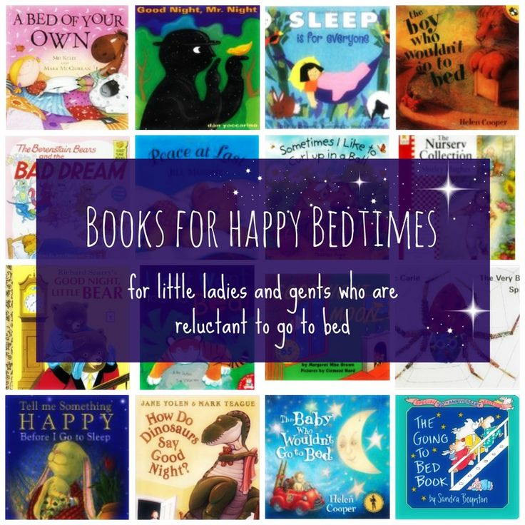 Books for Happy Bedtimes - stories for kids who are reluctant to go to bed. | #kidsmoveandtalk