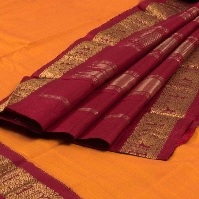 Sri Sagunthalai Silks Handwoven Korvai Kanchipuram Silk Saree 10002157 - AVISHYA.COM