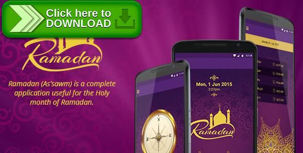 [ThemeForest]Free nulled download Ramadan App from http://zippyfile.download/f.php?id=52192 Tags: ecommerce, Islamic app, islamic application, ramadan android application, ramadan app
