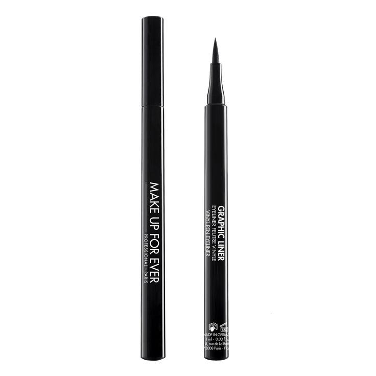 Grafische Liner Zwart...Dankzij de formule verrijkt met koolstof, het definieert de ogen met een diep zwarte afwerking die blijft zitten 12-uur lang.