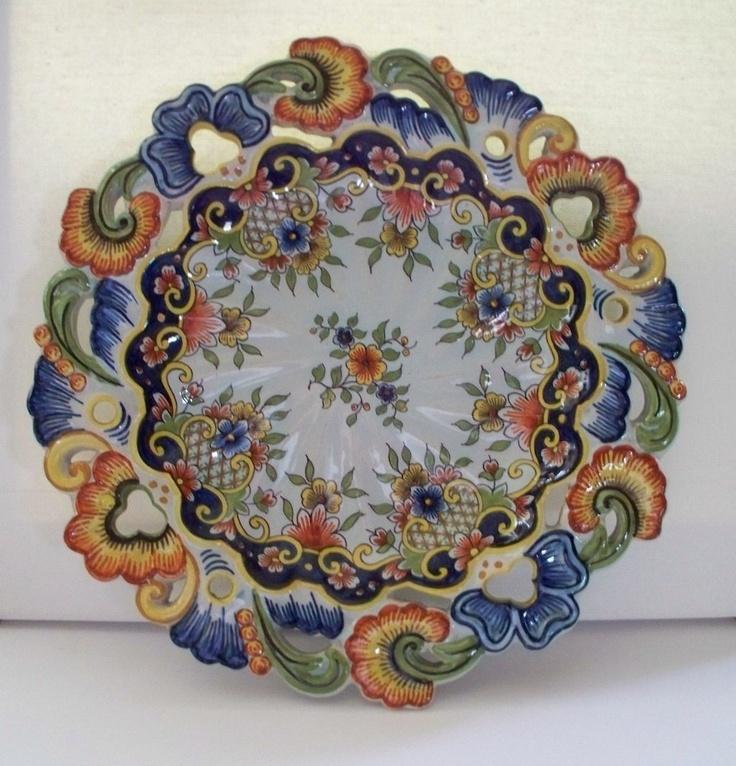 17 best images about rouen faience porcelain on pinterest - Faience de desvres ...