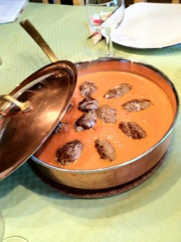 Parmesanjärpar i tomatsås