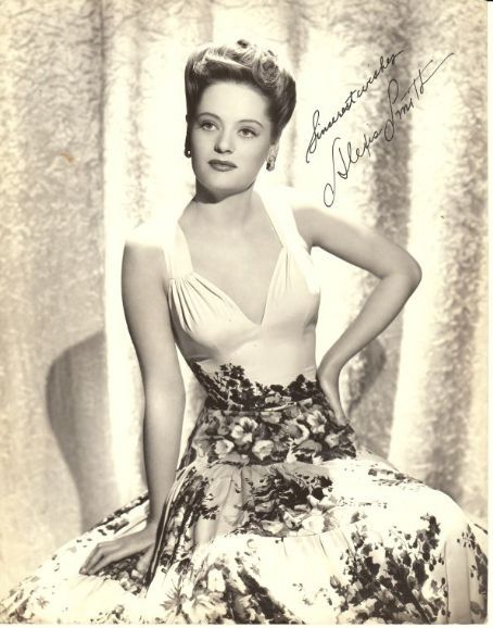 Alexis SMITH (1921-1933) * AFI Top Actress nominee. Notable Films: Gentleman Jim (1942); Dive Bomber (1941); The Constant Nymph (1943); The Adventures of Mark Twain (1944); The Doughgirls (1944); Conflict (1945); San Antonio (1945); Of Human Bondage (1946); Night and Day (1946); The Two Mrs. Carrolls (1947); The Woman in White (1948); Here Comes the Groom (1951); The Turning Point (1952); The Young Philadelphians (1959); The Age of Innocence (1993)