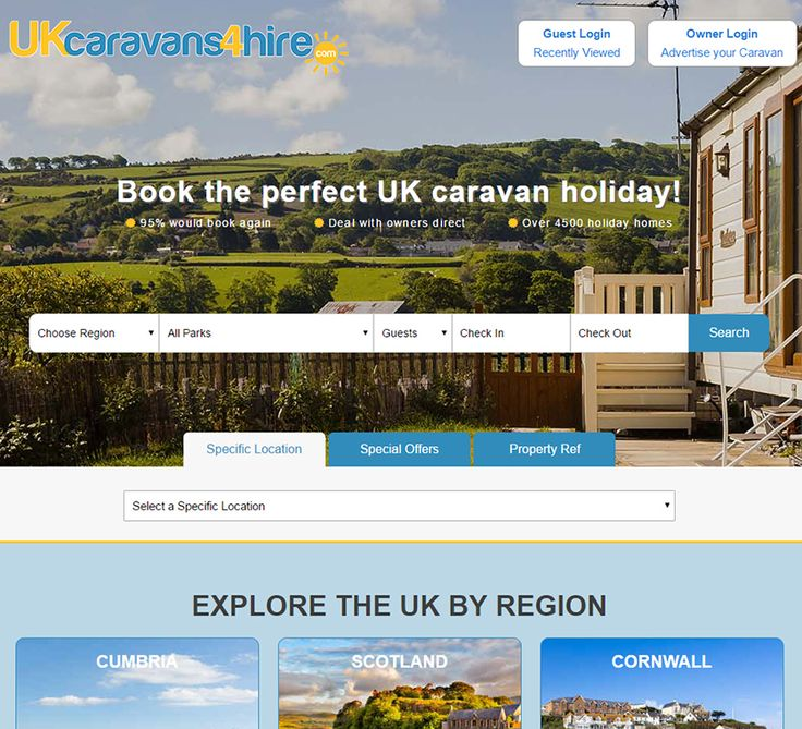 Our new website is up and ready to go! Now with new mobile friendly, navigational, and improved availability features, finding or hiring that perfect static caravan is even easier than before.