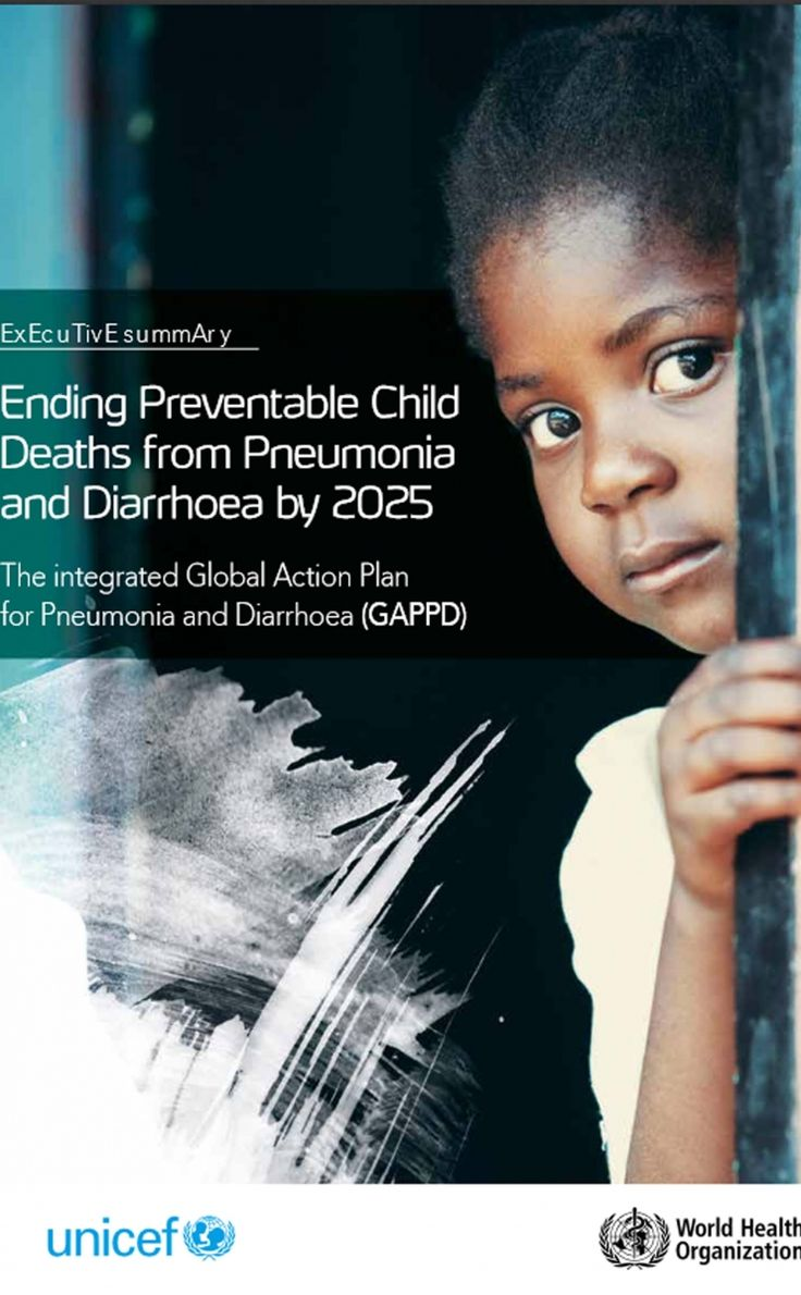 ACTION PLAN: WHO and UNICEF publish the first ever global plan to simultaneously tackle pneumonia and diarrhea.