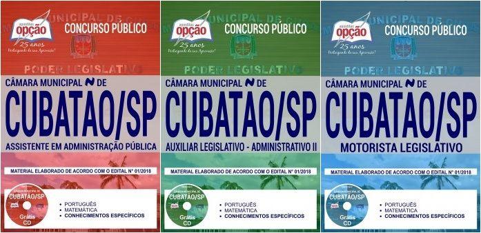 Apostilas Preparatorias Concurso Camara Municipal De Cubatao Sp
