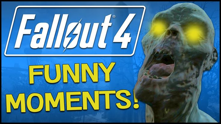 Fallout 4 - EASTER EGG, FUNNY GLITCHES & GHOULS! (Fallout 4 Funny Moments)