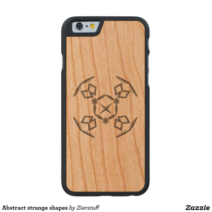 Abstract strange shapes carved® cherry iPhone 6 case