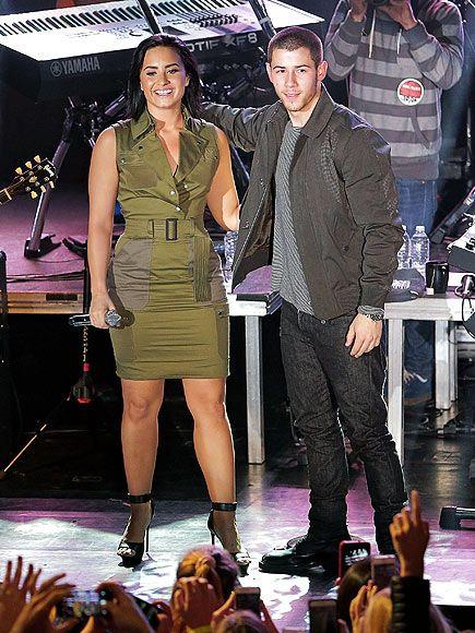 Nick Jonas and Demi Lovato Talk 'Complicated' Dating Histories – and the 'Hard' Transition from Disney Child Stardom| Music News, Demi Lovato, Joe Jonas, Miley Cyrus, Nick Jonas, Selena Gomez