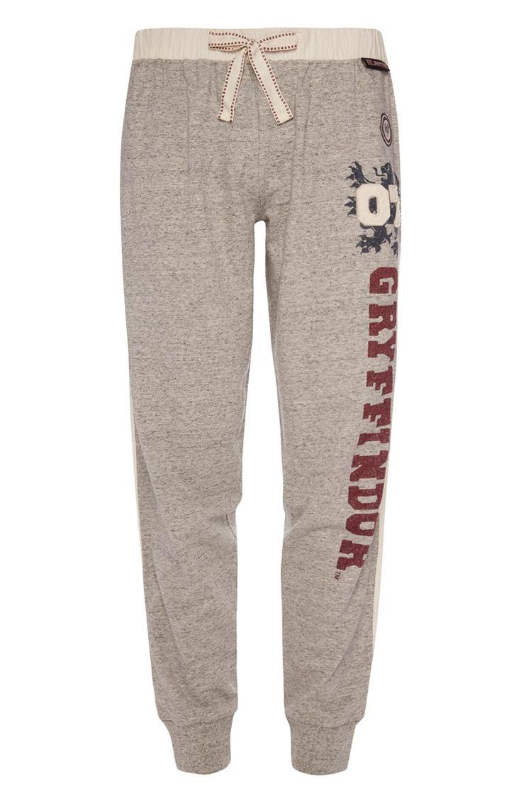Primark - Grijze Harry Potter-pyjamabroek