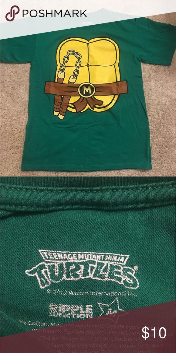 MEDIUM- Ninja Turtle Shirt Teenage Mutant Ninja Turtle Shirt.  Worn once for a Halloween.  Make an offer! Shirts Tees - Short Sleeve