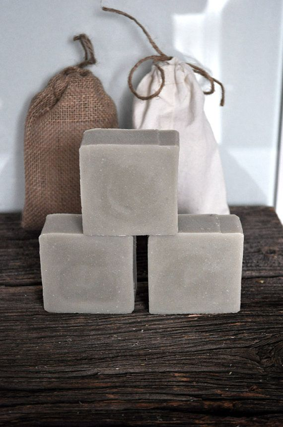 White clay soapVegan Soaphomemade soapnatural by VintagesqueSoap