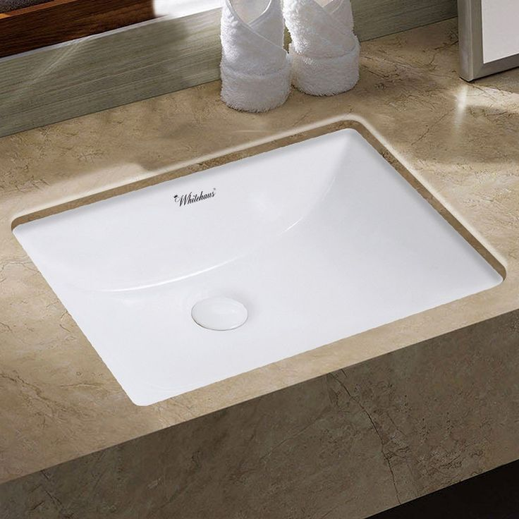Contemporary Undermount Bathroom Sinks » Cozy Mirabelle Miru1812wh White 18  11 16 Porcelain Undermount