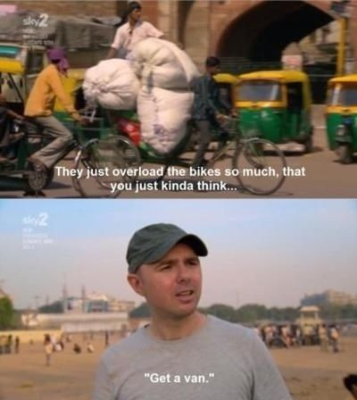He wants to help.   33 Reasons Why Karl Pilkington Is A Lovable Div