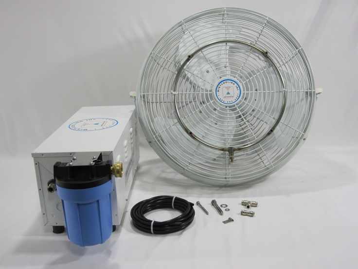 Heavy Duty Outdoor Misting Fan : Best images about misting fans on pinterest wall