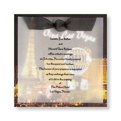 17 best ideas about vegas wedding invitations on pinterest for Las vegas elvis wedding invitations