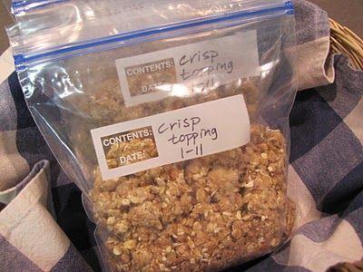 Freezer Fruit Crisp Topping | Tasty Kitchen: A Happy Recipe Community!
