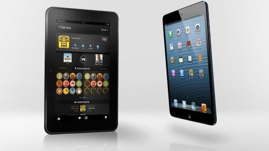 Gizmag compare the specs (and other features) of the Kindle Fire HD 8.9 and iPad mini