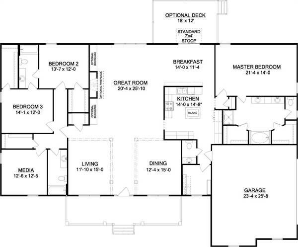 House Plans With Media Room 99 best house plans images on pinterest | country house plans
