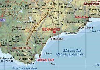 Benahavis Map