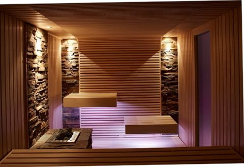 Beautiful and comfy sauna
