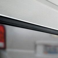 Single Garage-Door Bottom Seal (two 4-1/2' lengths)