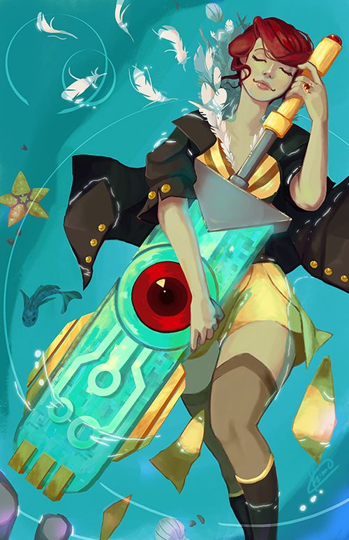 I finally finished! Transistor was a beautiful game, just like Bastion, SuperGiant did a wonderful job on this. The art and the OST are amazing. It was worth every penny on steam, in my opinion. If...