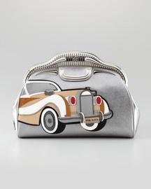 Prada 50s Cars Saffiano Clutch