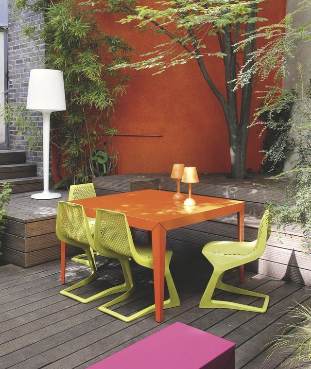 Repeindre Un Salon De Jardin En Pvc. Cheap Table Et Chaise De Jardin ...