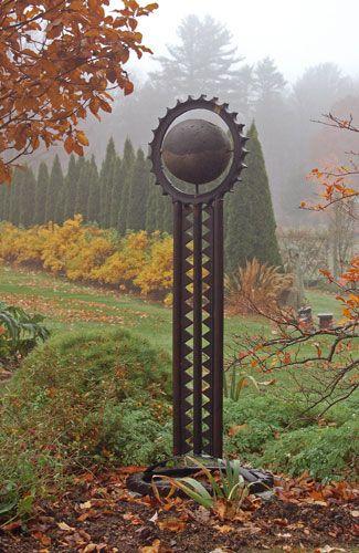 Bedrock Gardens in mist, Lee NH