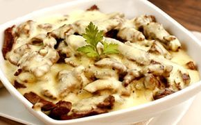 Receita de picadinho de coxão mole com molho 3 queijos para a fase ataque dukan.