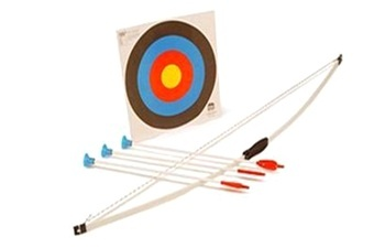 Kids archery set with target