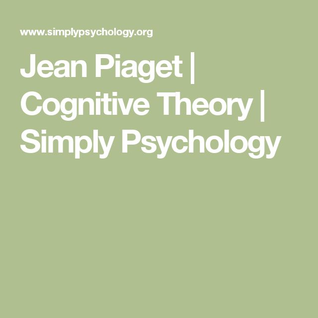 the theory of cognitive development in children by jean piaget and its advancement According to piaget's theory of cognitive development, children at as jean piaget pointed out in his theory of their cognitive operations children can.