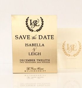 Isabella Save the Date
